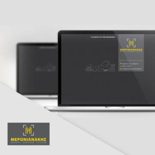 brand identity & TV spot | κατασκευαστική Μερονιανάκη