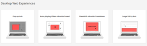 Desktop Web Experiences