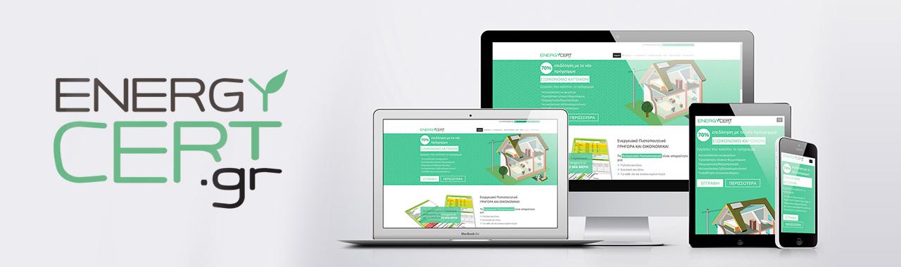 energycert web design & development