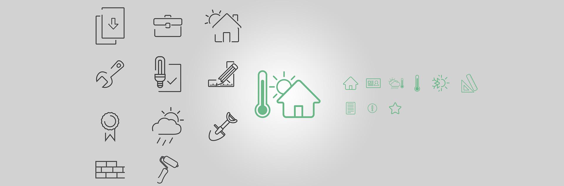 energycert custom made icons