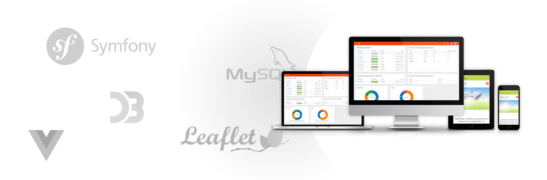 recycglobe responsive platform design - Software product development