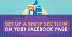 Add Shop section to your Facebook page | Webtrails