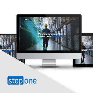 stepone SEO-friendly website - responsive web design